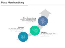 Mass Merchandising Ppt Powerpoint Presentation Gallery Model Cpb