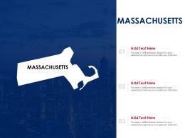 Massachusetts Powerpoint Presentation PPT Template