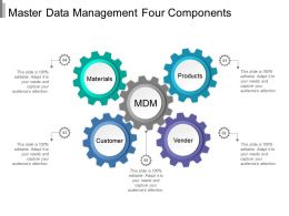 Master Data Management Four Components