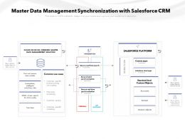 Master Data Management Synchronization With Salesforce CRM