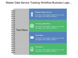 Master Data Service Tracking Workflow Business Logic Communication