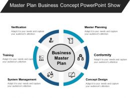 Master Plan Business Concept Powerpoint Show