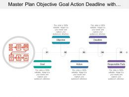 Master Plan Objective Goal Action Deadline With Planning Image