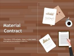 Material Contract Ppt Examples Slides