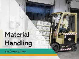 Material Handling Approach Equipment Organization Process Location Planning