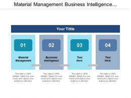 Material Management Business Intelligence Management Performance Management Digital Marketing Cpb