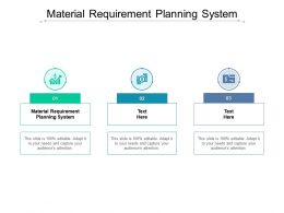 Material Requirement Planning System Ppt Powerpoint Presentation Icon Cpb