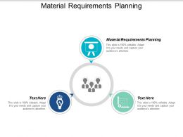 Material Requirements Planning Ppt Powerpoint Presentation Gallery Rules Cpb