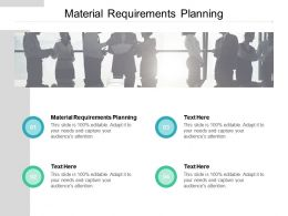 Material Requirements Planning Ppt Powerpoint Presentation Inspiration Cpb