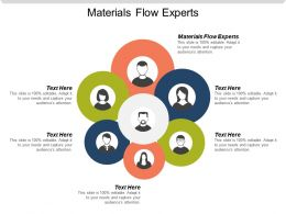 Materials Flow Experts Ppt Powerpoint Presentation Gallery Design Ideas Cpb