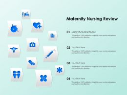 Maternity Nursing Review Ppt Powerpoint Presentation Professional Graphics Download