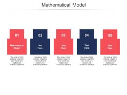 Mathematical Model Ppt Powerpoint Presentation File Guidelines Cpb