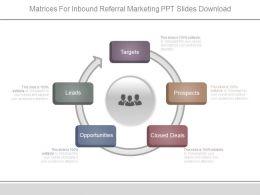 matrices_for_inbound_referral_marketing_ppt_slides_download_Slide01