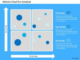 Matrix Chart For Analysis Flat Powerpoint Design