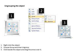 59987283 Style Hierarchy Matrix 1 Piece Powerpoint Presentation Diagram Infographic Slide