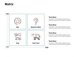 Matrix Marketing Ppt Powerpoint Presentation Pictures Slide