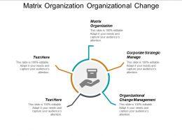 matrix_organization_organizational_change_management_corporate_strategic_manage_cpb_Slide01