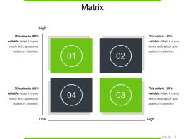 Matrix Powerpoint Slide Deck Template
