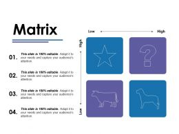 Matrix Ppt Ideas Icons