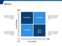 Matrix Ppt Slide Design