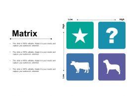Matrix Ppt Styles Demonstration