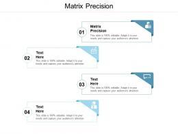 Matrix Precision Ppt Powerpoint Presentation Icon Outline Cpb