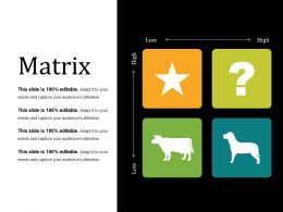 Matrix Presentation Powerpoint Example