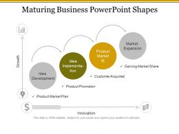 Maturing Business Powerpoint Shapes