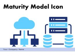 Maturity Model Icon Business Capability Assessment Infrastructure Illustrating