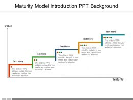 Maturity Model Introduction PPT Background