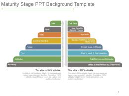 Maturity Stage Ppt Background Template