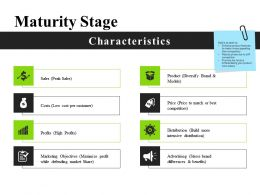 Maturity Stage Ppt Images