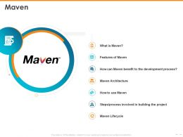 Maven Maven Architecture Lifecycle Powerpoint Presentation Example
