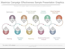 Maximize Campaign Effectiveness Sample Presentation Graphics