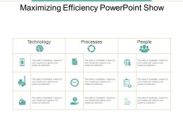 Maximizing Efficiency Powerpoint Show