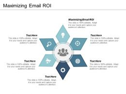Maximizing Email ROI Ppt Powerpoint Presentation Portfolio Slideshow Cpb
