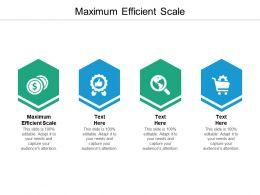 Maximum Efficient Scale Ppt Powerpoint Presentation Icon Clipart Cpb
