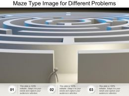 Maze Type Image For Different Problems
