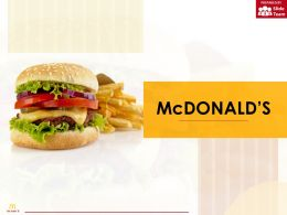 Mcdonald Company Profile Overview Financials And Statistics From 2014-2018