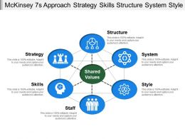 Mckinsey 7s Approach Strategy Skills Structure System Style