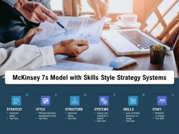 Mckinsey 7s Model With Skills Style Strategy Systems