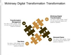 Mckinsey Digital Transformation Transformation Management Demand Charts Lean Management Cpb