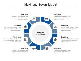 Mckinsey Seven Model Ppt Powerpoint Presentation Professional Icon Cpb