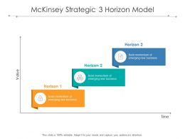Mckinsey Strategic 3 Horizon Model