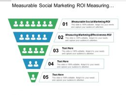 Measurable Social Marketing Roi Measuring Marketing Effectiveness Roi Cpb