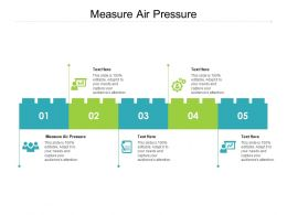 Measure Air Pressure Ppt Powerpoint Presentation Portfolio Grid Cpb