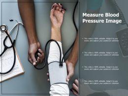 Measure Blood Pressure Image