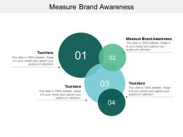 Measure Brand Awareness Ppt Powerpoint Presentation Summary Slide Cpb