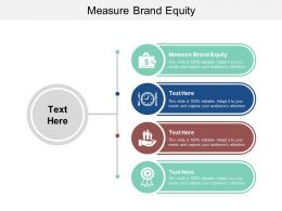 Measure Brand Equity Ppt Powerpoint Presentation Styles Structure Cpb