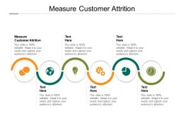 Measure Customer Attrition Ppt Powerpoint Presentation Infographics Inspiration Cpb